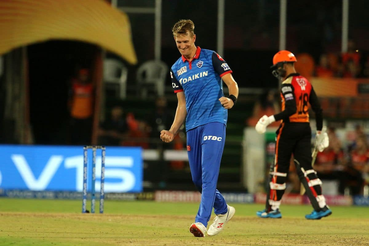 Chris Morris SRH vs DC three wickets