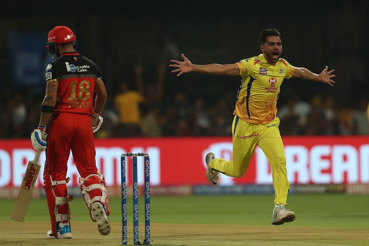 Deepak Chahar strikes big