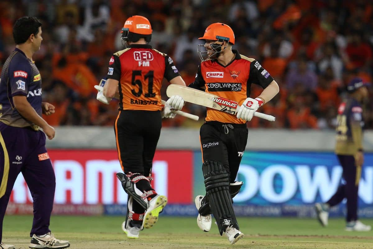 IPL 2019: David Warner Jonny Bairstow played match winning partnership for Hyderabad against Kolkata