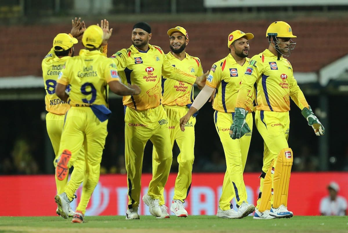 IPL 2019: Chennai registers 5th win after defeating Kolkata by 7 wickets