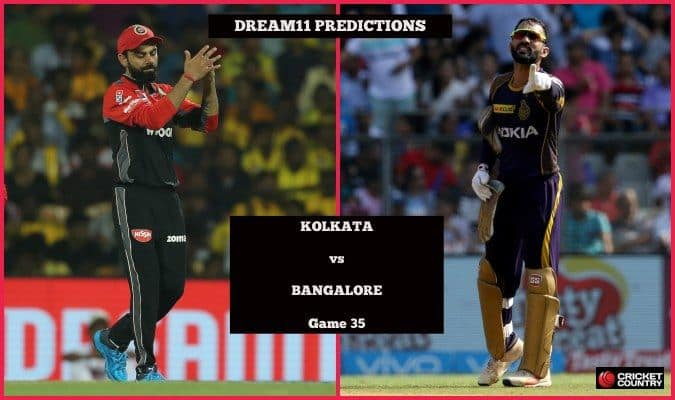 Dream11 Prediction: KKR vs RCB Team Best Players to Pick for Today's IPL T20 Match between Knight Riders and Royal Challangers at Eden Gardens at 8PM