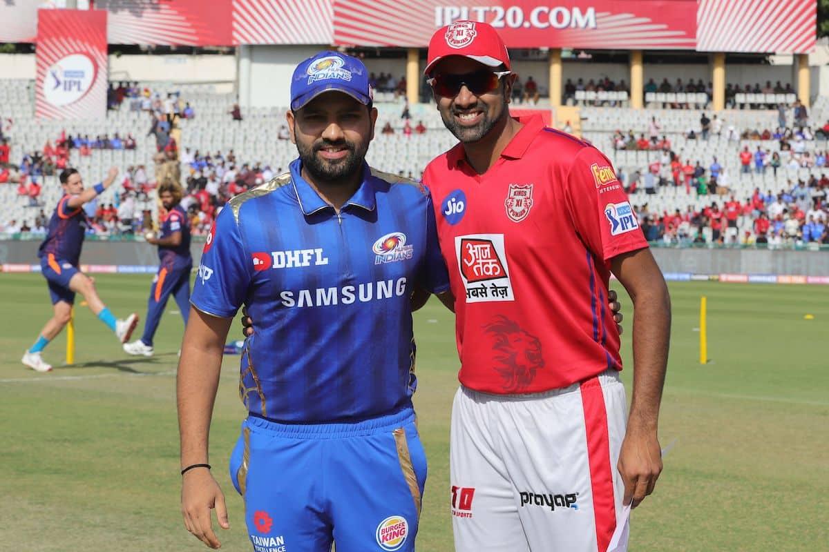 Rohit Sharma vs R Ashwin IPL 2019