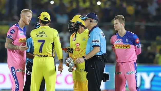 MS Dhoni IPL 2019 Chennai Super Kings Rajasthan Royals