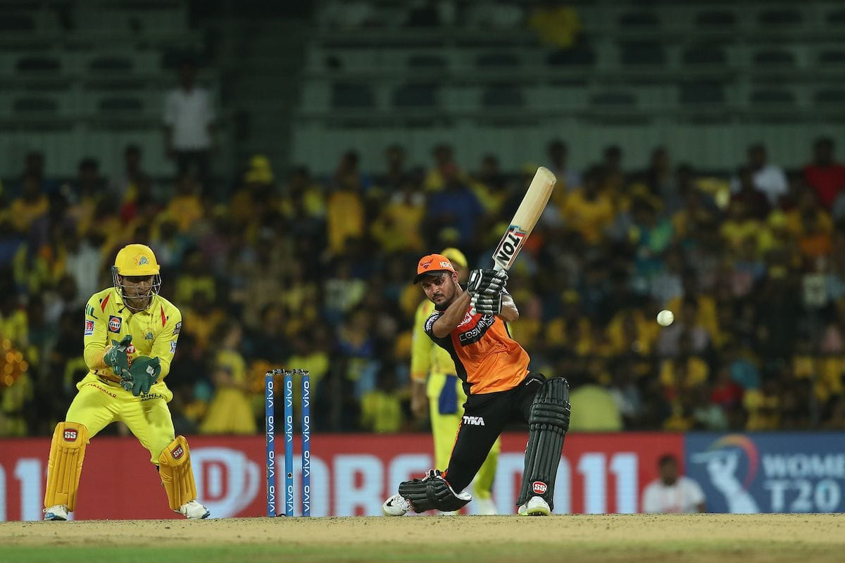 VVS Laxman says Manish Pandey overcome with the bad form on right time