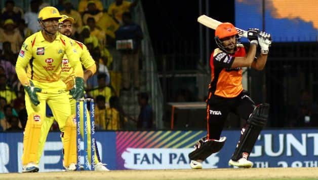 IPL 2019 – CSK vs SRH, David Warner and Manish Pandey's  fifties, Hyderabad sets 176 runs target for Chennai