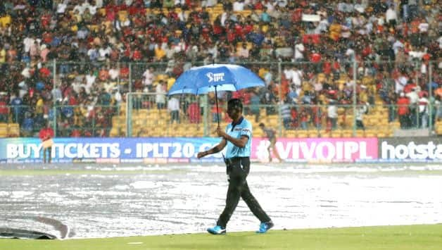 IPL2019, RCB vs RR: Rain delays start of play after Rajasthan decided to bowl