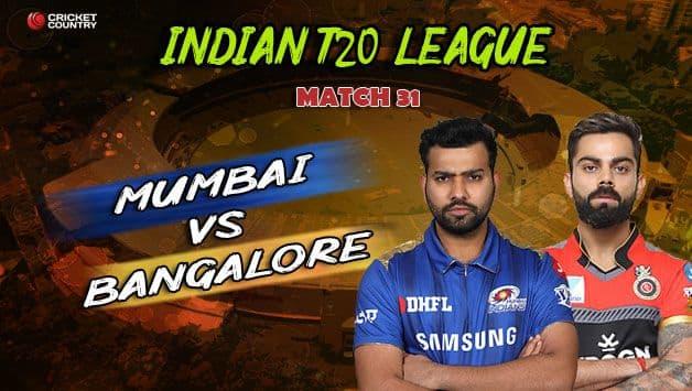 Rohit Sharma, Virat Kohli, Indian Premier League, IPL 2019, Mumbai Indians vs Royal Challengers Bangalore, MI vs RCB,