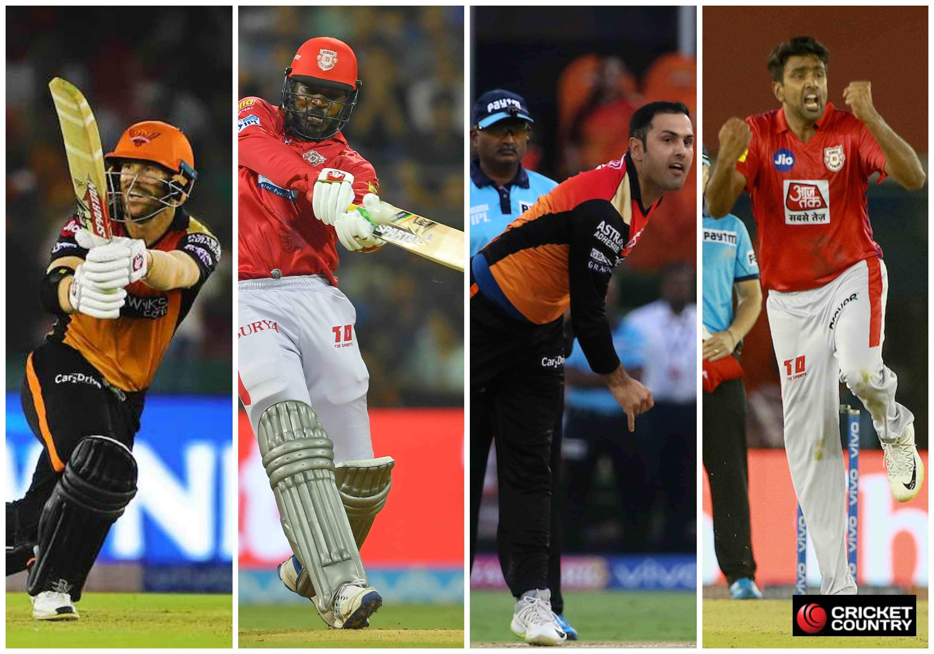 SRH vs KXIP Dream11 Team - SRH vs KXIP My Team11, SRH vs