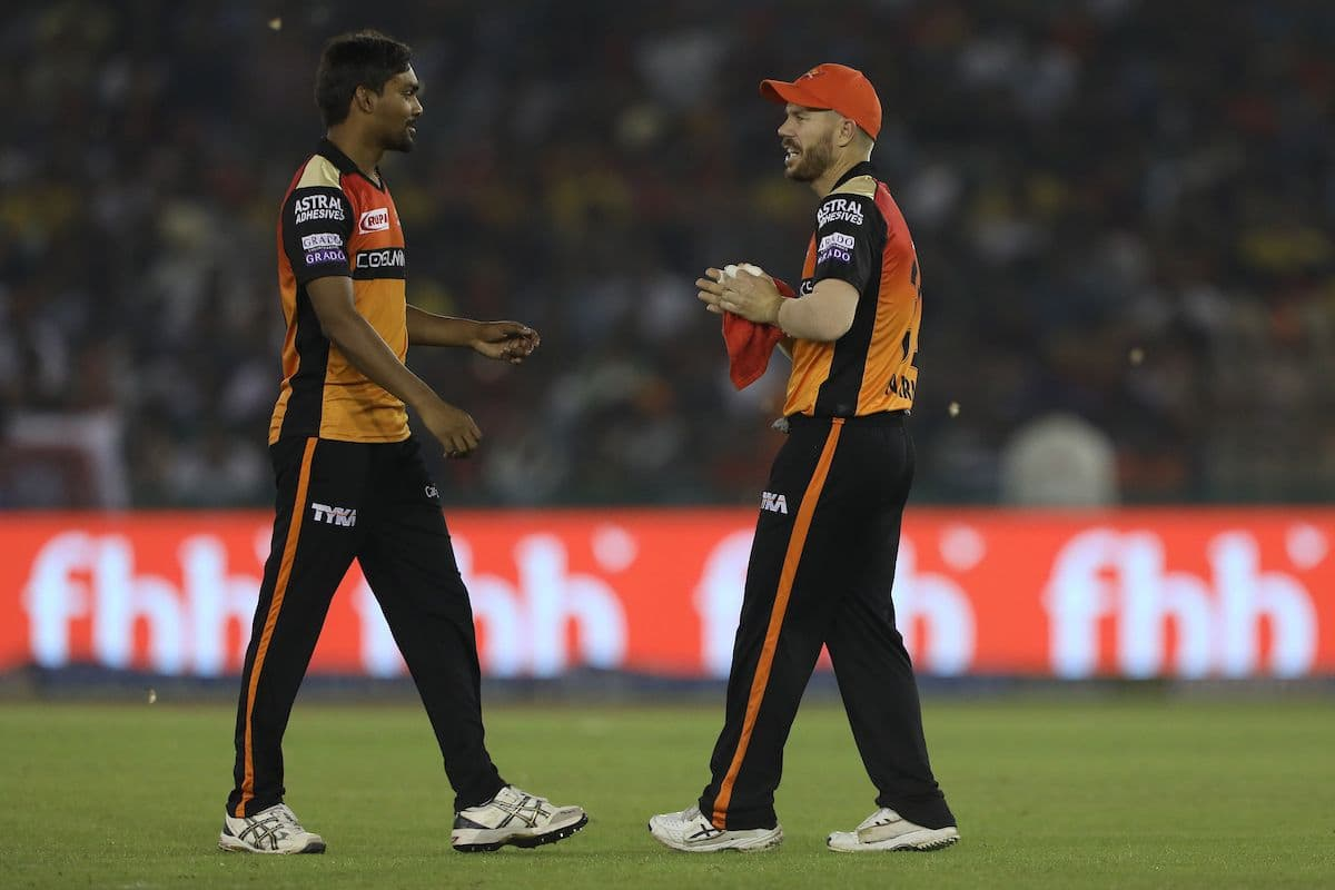 Mohali dew factor hampered Sunrisers, aided KXIP: Sandeep Sharma