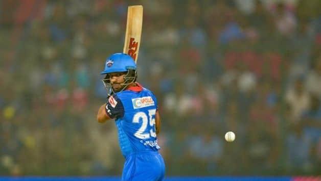 Shikhar Dhawan IPL 2019 Delhi Capitals Match 37