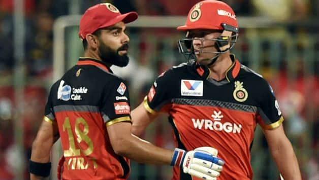 IPL 2019 RCB vs KKR at M Chinnaswamy : Virat Kohli, AB De Villiers score big as RCB post 205/3