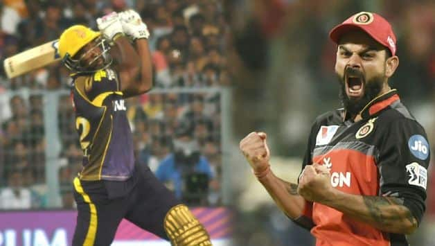 IPL 2019: Bangalore beat Kolkata by 10 runs at Eden Gardens, Russell, Rana shines