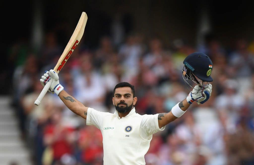 Virat Kohli named Wisden Cricketer of the Year for third time in a row
