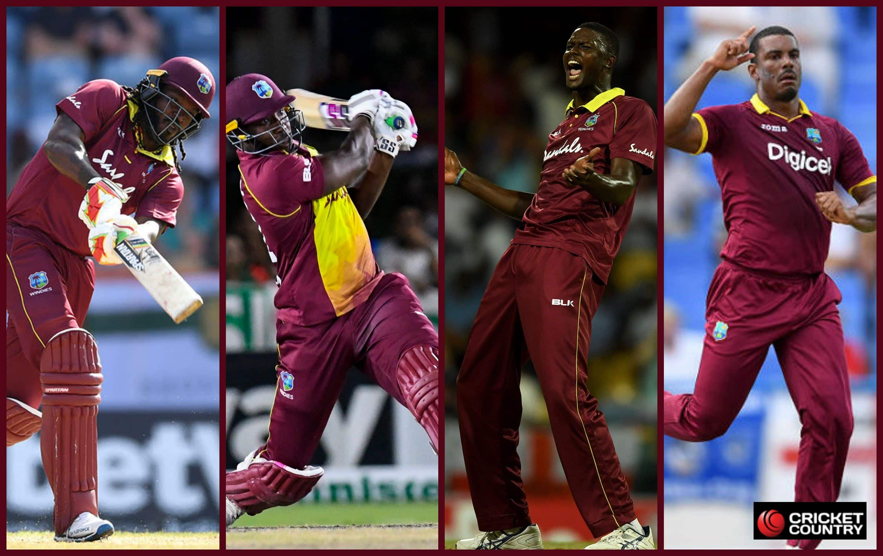 Windies name Gayle in CWC squad, Pollard misses out