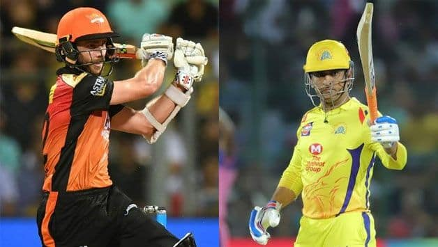 Kane Williamson, MS Dhoni, SRH vs CSK, Indian Premier League, IPL 2019