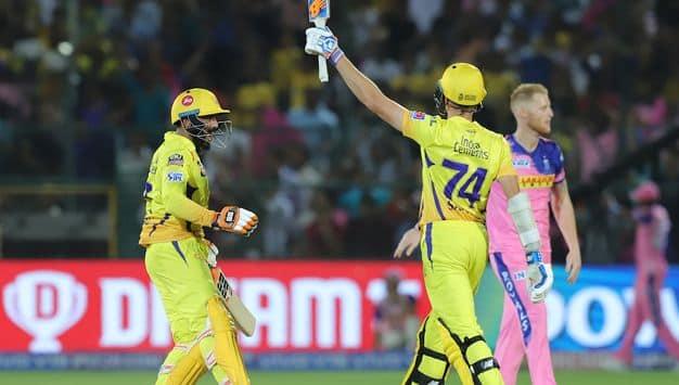 IPL 2019: Ambati Rayudu, MS Dhoni, mitchell santner stars in chennai win against Rajasthan