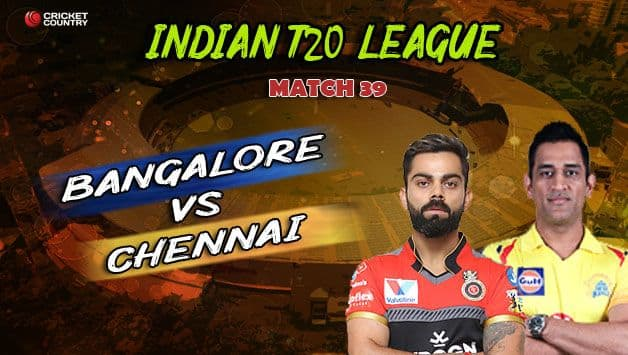 Match Highlights, full score and results RCB vs CSK: Royal Challengers Bangalore edge Chennai Super Kings despite incredible MS Dhoni's 84 not out