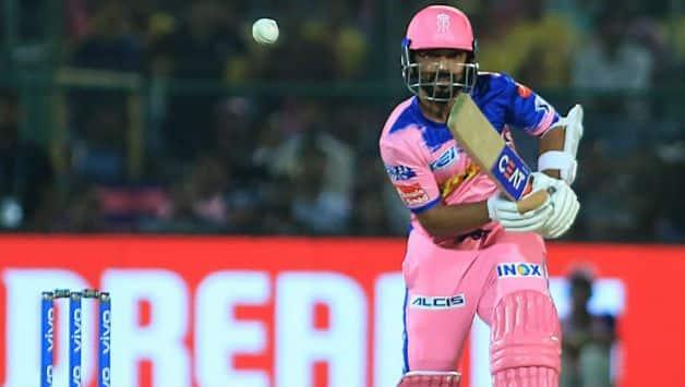 Ajinkya Rahane is not happy after Rajasthan almost mess it up vs Mumbai