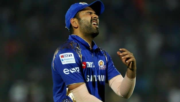 Injured Rohit Sharma in 11 years misses an IPL match for first time