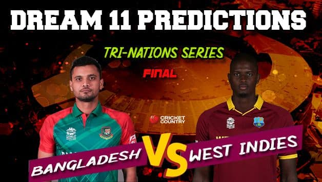 Recent Match Report - Bangladesh vs West Indies, Ireland Tri-Nation Series, Final