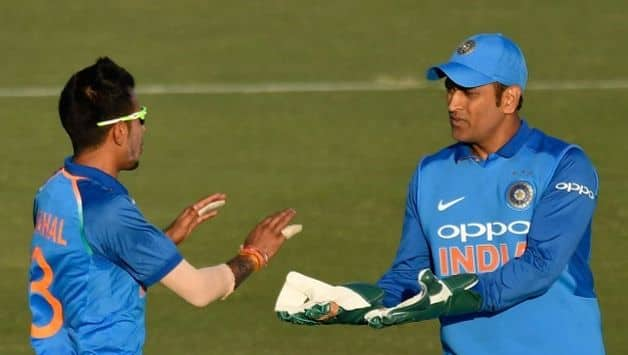 Whatever happens, you need MS Dhoni; we obey what he says: Yuzvendra Chahal
