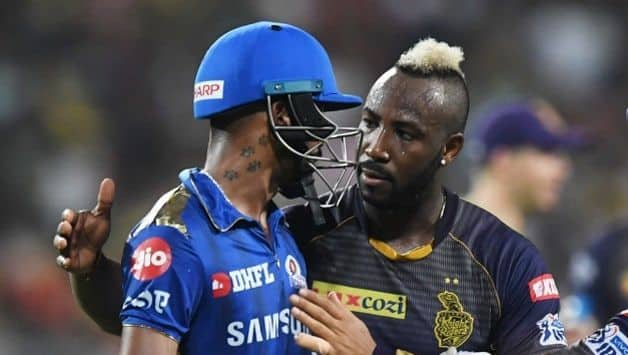 Hardik Pandya and Andre Russell IPL 2019