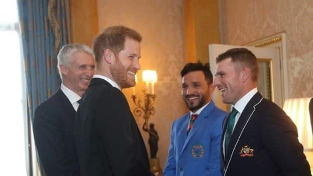Cricket World Cup 2019: 'How long have you been playing?' – Prince Harry sledges Aaron Finch
