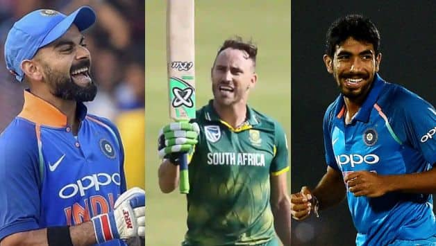Virat Kohli, Faf du Plessis, Jasprit Bumrah, World Cup 2019, ICC Cricket World Cup 2019