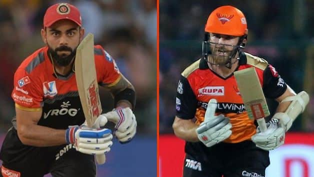 Virat Kohli, Kane Williamson, Royal Challengers Bangalore vs Sunrisers Hyderabad, RCB vs SRH, IPL 2019, Indian Premier League