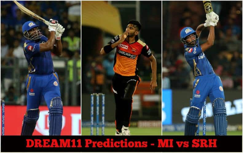Dream11 Prediction: MI vs SRH Team Best Players to Pick for Today's IPL T20 Match between Indians and Sunrisers at 8PM