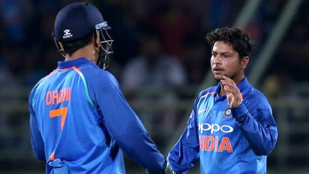 If we are 60, Dhoni makes up the other 40 percent- kuldeep yadav