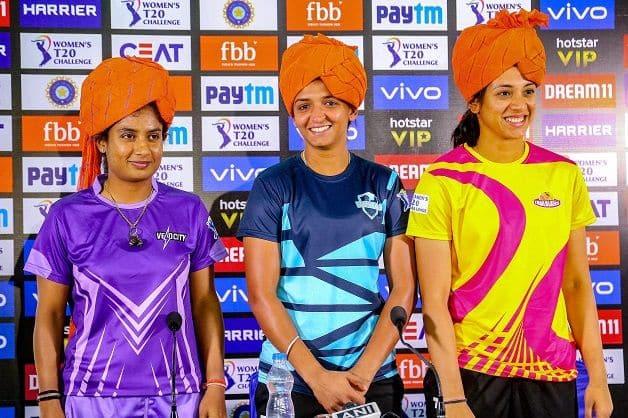 Mithali Raj, Harmanpreet Kaur, Smriti Mandhana, Women's T20 Challenge