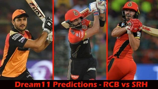 Dream11 Prediction: RCB vs SRH Team Best Players to Pick for