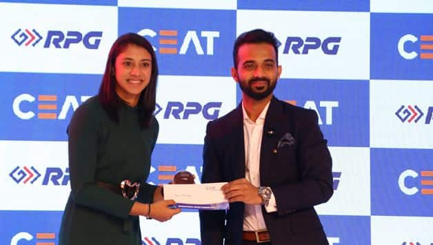 Smriti Mandhana, Virat Kohli bag top honours in CEAT Cricket rating awards