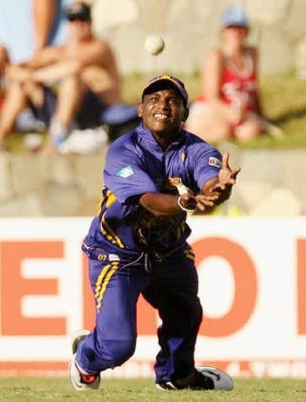 Sanath Jayasuriya  Matches  38  Innings  38  Catches  18