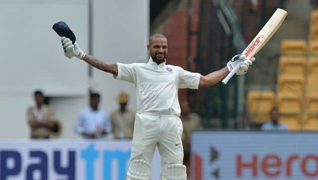My record in Test cricket is pretty good, says Shikhar Dhawan