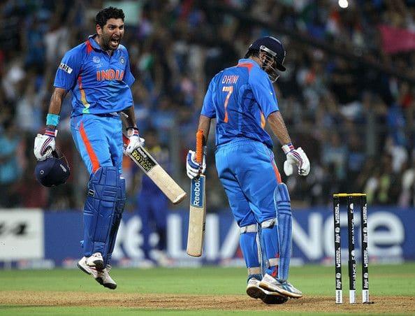 2011 World Cup final India vs Sri Lanka
