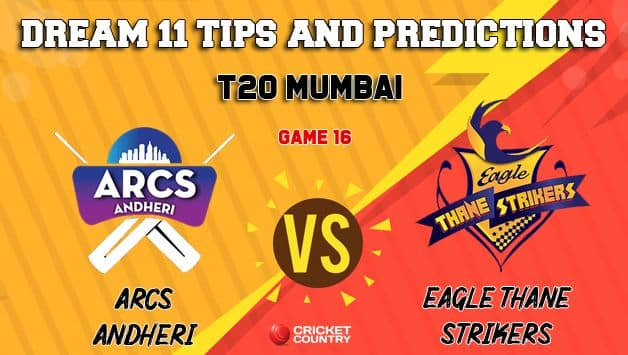 Dream11 Prediction: AA vs ETS Team Best Players to Pick for Today's Match between Arcs Andheri and Eagle Thane Strikers at 7:30 PM
