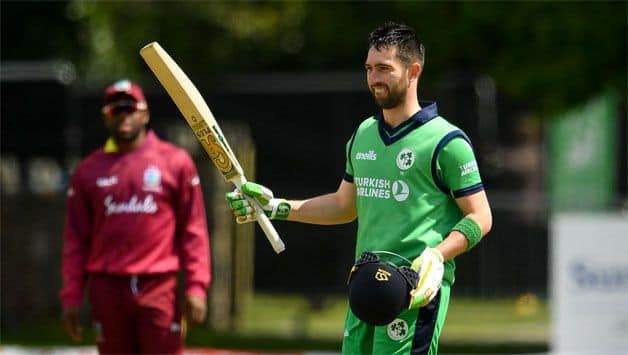 Balbirnie ton, O'Brien rampant fifty flay West Indies