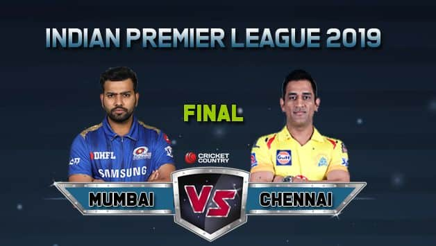 MI vs CSK IPL 2019 Final LIVE: Mumbai Indians beat Chennai Super Kings by a run to clinch record 4th IPL title