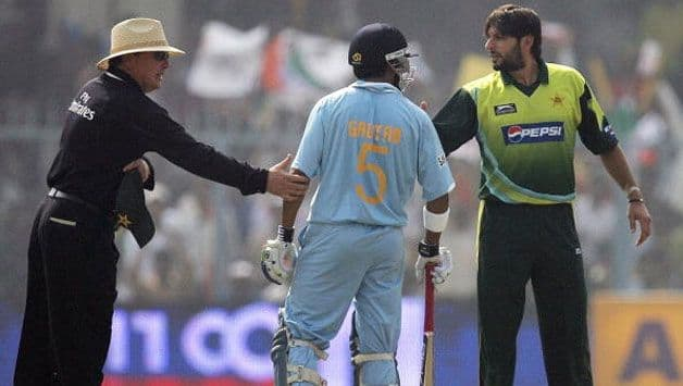 """Will personally take you to psychiatrist,"" Gambhir responds to Afridi's comments"