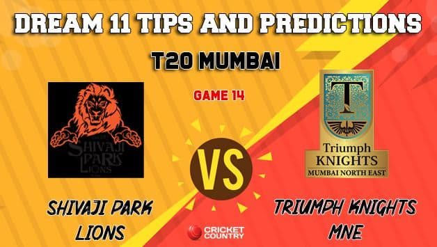 Dream11 Prediction: SPL vs TK Team Best Players to Pick for Today's Match between Shivaji Park Lions and Triumph Knights MNE at 7:30 PM