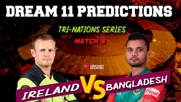 Dream11 Prediction: BAN vs IRE Team Best Players to Pick for Today's Match between Bangladesh and Ireland at 3:15 PM