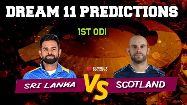 Scotland vs Sri Lanka 1st ODI abandoned without a ball bowled