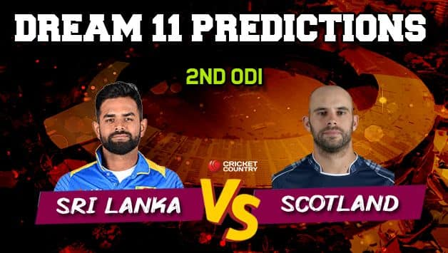 Dream11 Prediction: SL vs SCO Team Best Players to Pick for Today's Match between Sri Lanka and Scotland, 2nd ODI at 3:30 PM