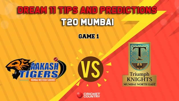 Dream11 Prediction T20 Mumbai: AT vs TK Team Best Players to Pick for Today's Match between Akash Tigers MWS and Triumph Knights MNE at 3:30 PM