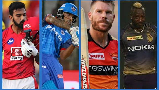 IPL 2019: Five players from different franchise score above 500 runs this season