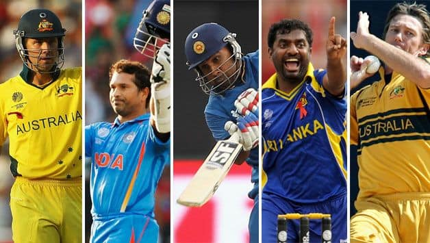 ICC World Cup 2019: Most capped players