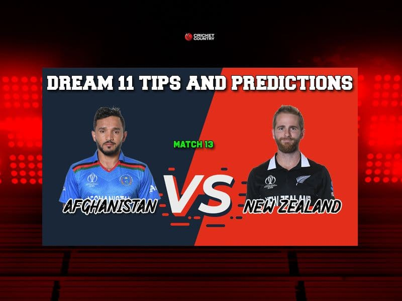 AFG vs NZ Dream11 Prediction LIVE: Best Playing XI Players to Pick for Today's Match between New Zealand and Afghanistan at 6 PM