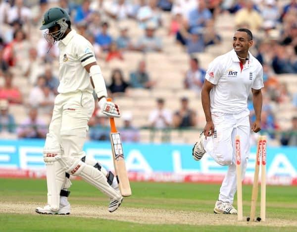 Ajmal Shahzad Test debut